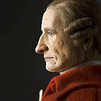 Right closup color image of Patrick Henry aka.
