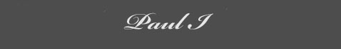 Text: Paul I Signature