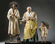 Thumbnail color image of French Peasant Family aka.