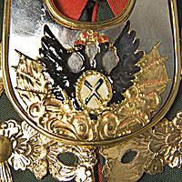 Left close up color image of Peter III of Russia aka. Пётр III Фëдорович, by George Stuart.