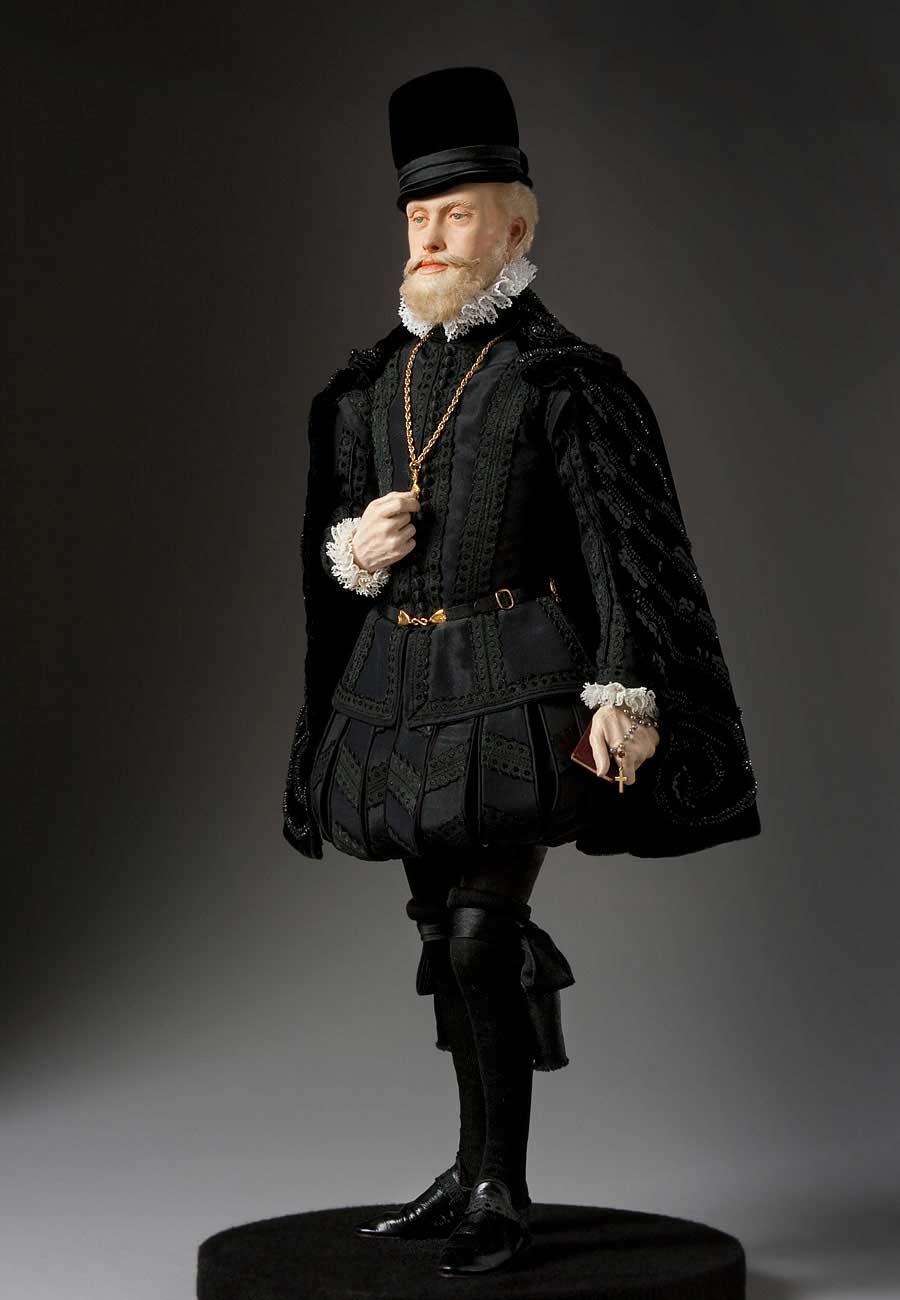 Full length color image of Phillip II aka.