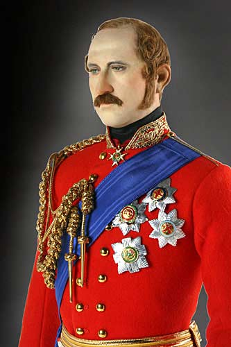 Portrait length color image of Prince Albert aka.