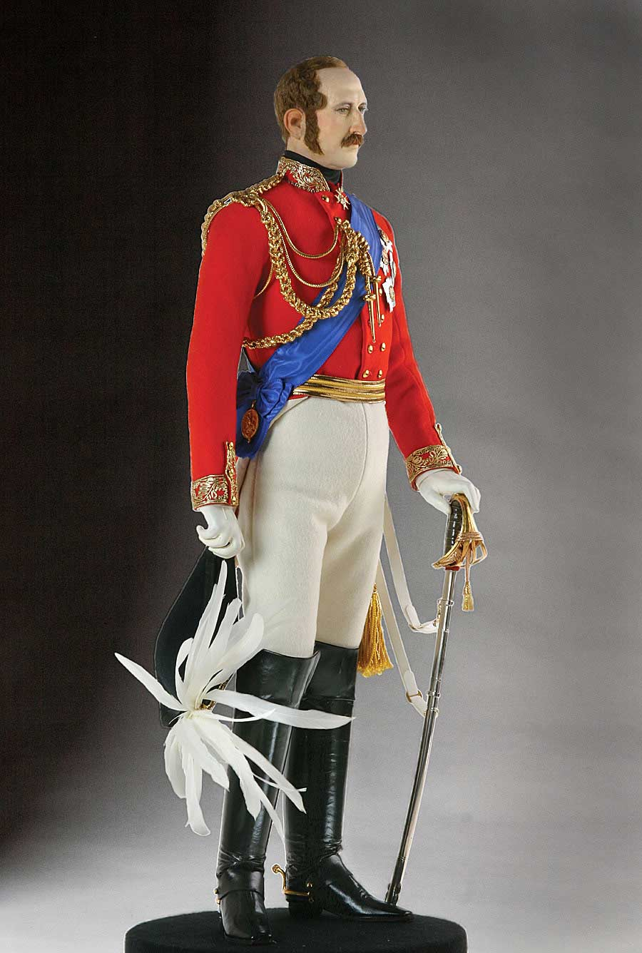 Full length color image of Prince Albert aka.
