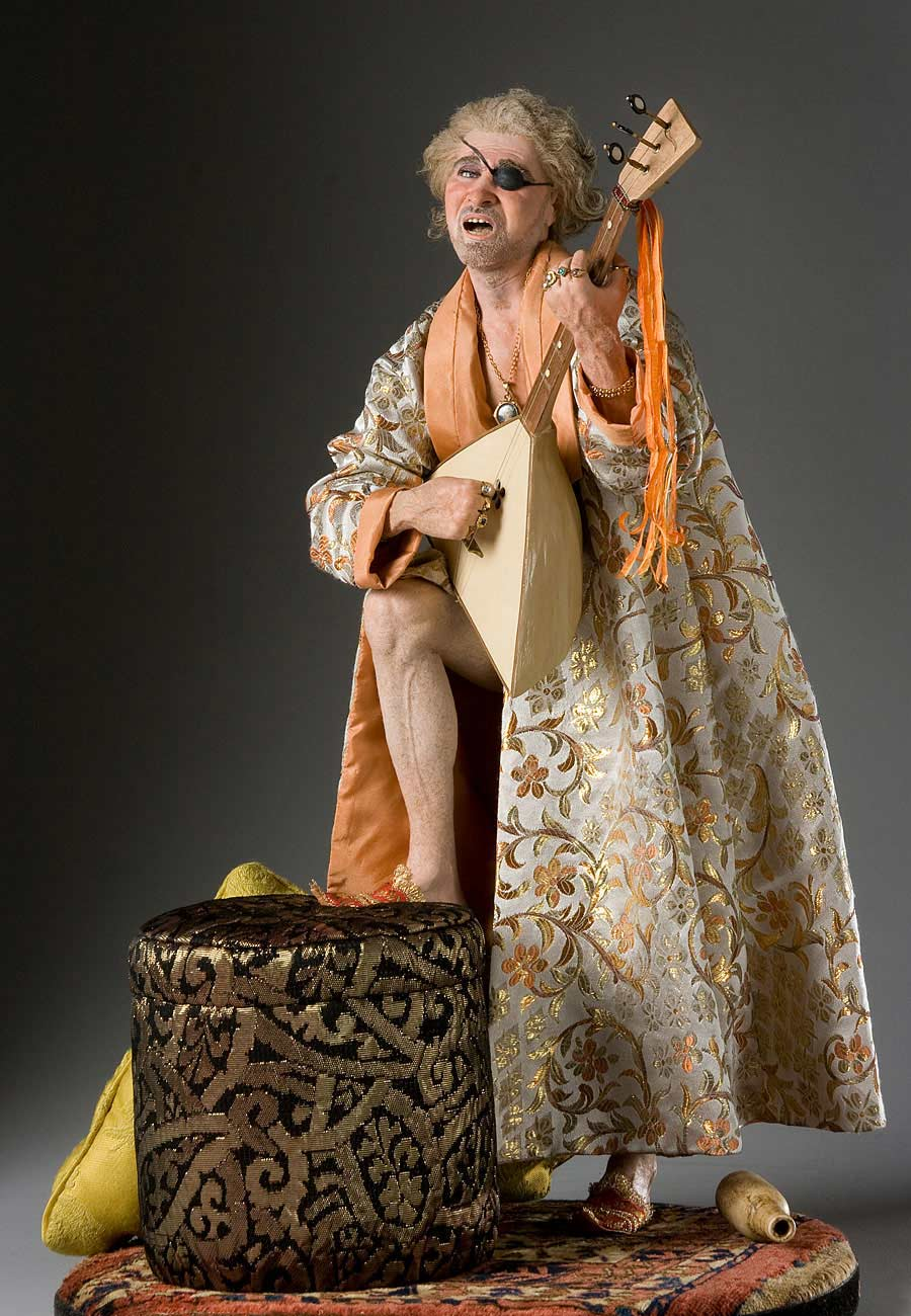 Full length color image of Prince Potemkin aka. Григо́рий Алекса́ндрович Потёмкин-Таври́ческий, by George Stuart.