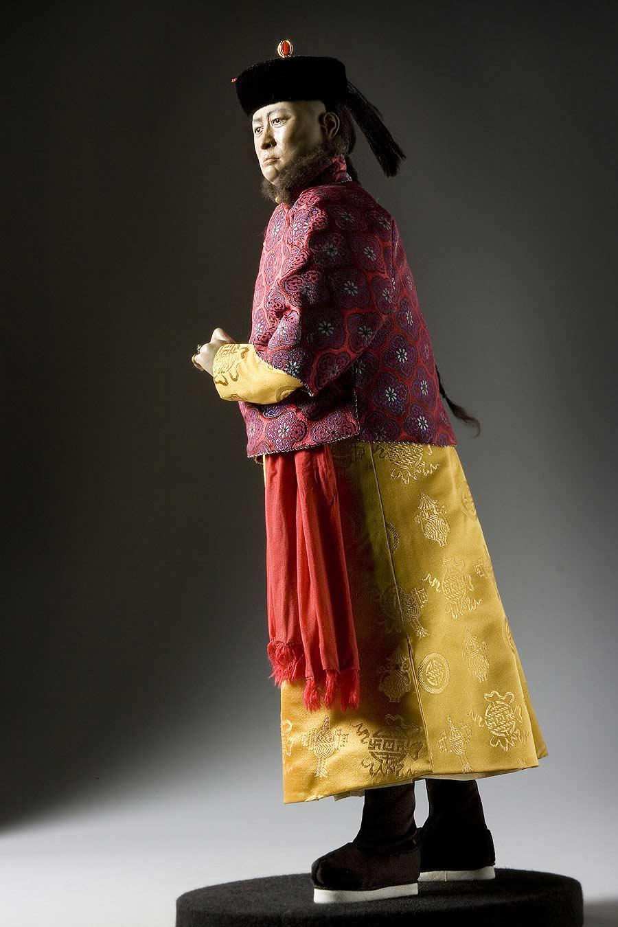 Full length color image of Prince Tuan aka. Zaiyi, by George Stuart.