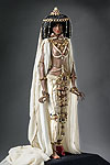 Thumbnail color image of Queen of Sheba aka. Malkat Sh'va, by George Stuart.