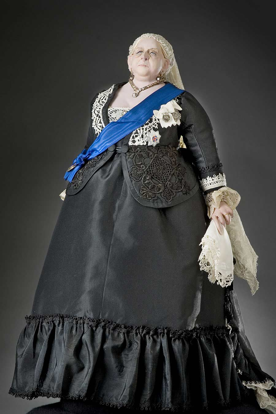 Full length color image of Queen Victoria 1900 (v1) aka. Widow of Windsor, by George Stuart.