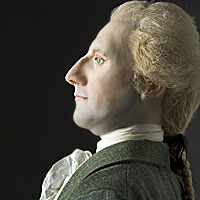 Right closup color image of Richard Henry Lee, by George Stuart.