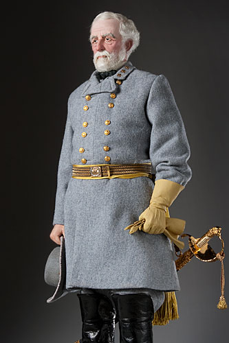 Portrait length color image of Robert E. Lee aka.
