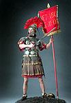 Thumbnail color image of Roman Centurion aka. centurio, by George Stuart.