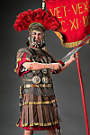 Thumbnail color image of Roman Centurion aka. centurio, by George Stuart.