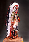 Thumbnail color image of Sioux Chief, by George Stuart.
