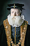 Thumbnail color image of William Cecil aka. Lord Burghley, by George Stuart.