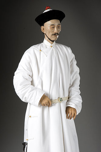 Portrait length color image of Tao Kuang aka. Daoguang Emperor, by George Stuart.