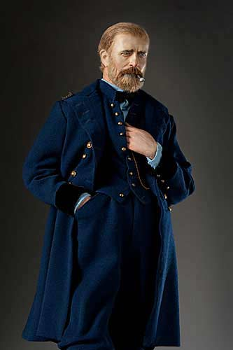 "Portrait length color image of Ulysses S. Grant aka. ""Unconditional Surrender"", by George Stuart."