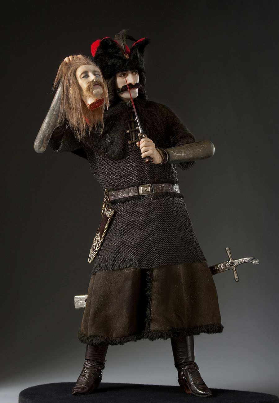 Full length color image of Vlad Tepes aka.