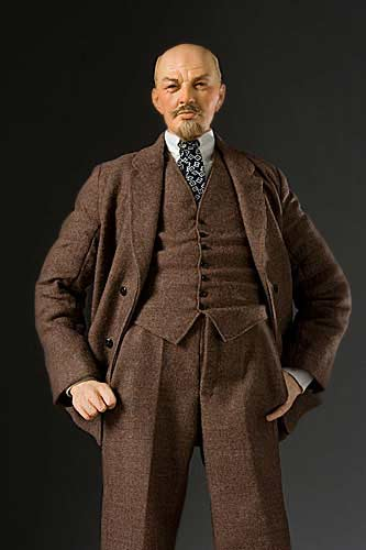 Portrait length color image of Vladimir Lenin aka. Владимир Ильич Ленин, Vladimir Ilyich Ulyanov , by George Stuart.
