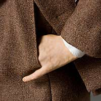 Left close up color image of Vladimir Lenin aka. Владимир Ильич Ленин, Vladimir Ilyich Ulyanov , by George Stuart.