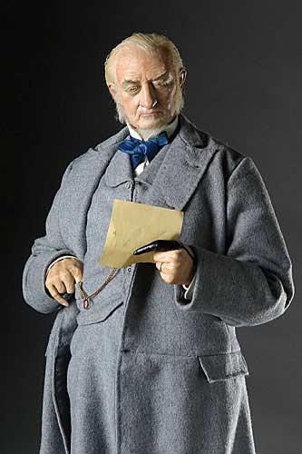Portrait length color image of William E. Gladstone aka. Grand Old Man, by George Stuart.