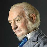 Right closup color image of William E. Gladstone aka. Grand Old Man, by George Stuart.