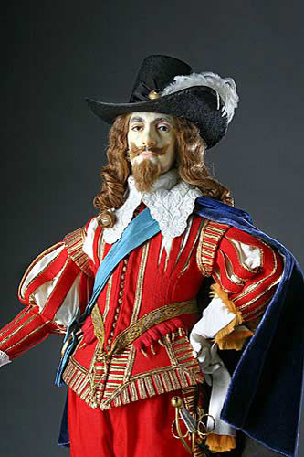 Portrait of Charles I aka. Charles I of England from Historical Figures of England