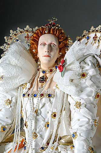 Portrait of Elizabeth I aka. Elizabeth I of England, Glorianna, Good Queen Bess, The Virgin Queen from Historical Figures of England