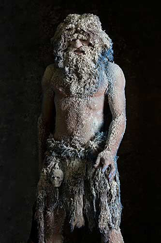 Portrait of Frost Giant aka. Mountain Giants from Figures of Germanic Myth and Legend