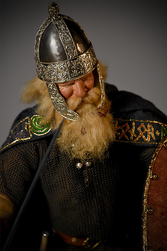 Portrait of Hildebrand aka. Dietric von Bern from Figures of Germanic Myth and Legend