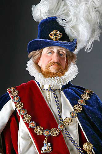 Portrait of James I aka. James I of England, James VI of Scotland, The Second Solomon from Historical Figures of England