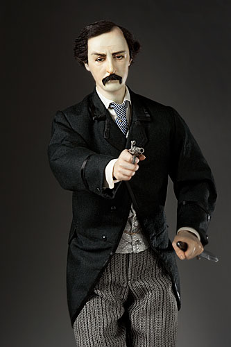 Portrait of John Wilkes Booth aka. Lincoln's Assassin from Personalities of the Lincoln Era