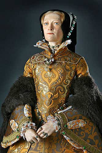 """Portrait of Mary Tudor aka. Mary I of England,  Bloody Mary from Historical Figures of England"""