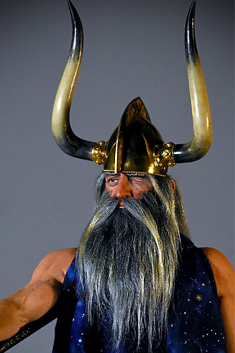 Portrait of Wotan War God